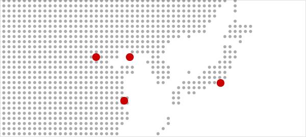 グループ会社地図